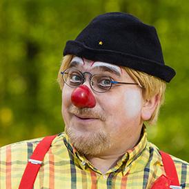 Das ist Clown Tomtom.