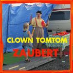 Clown Tomtom zeigt Zaubertricks