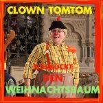 Clown Tomtom wird gleich den Weihnachtsbaum schmücken