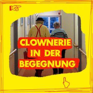 Hier wird zur Clownerie in der Begegnung weitergeleitet.