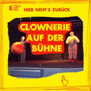 Hier geht es zurück zur Bühnenseite von Clown Tomtom